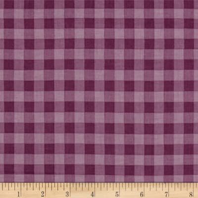 Stitcher's Garden Large Gingham Plum