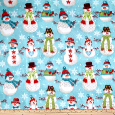 Winter Fleece Folk Snowmen