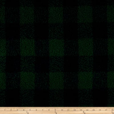 Telio Addison Wool Plaid Blue/Green