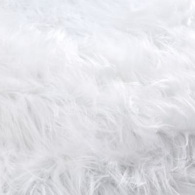 Shannon Luxury Faux Fur Monster White