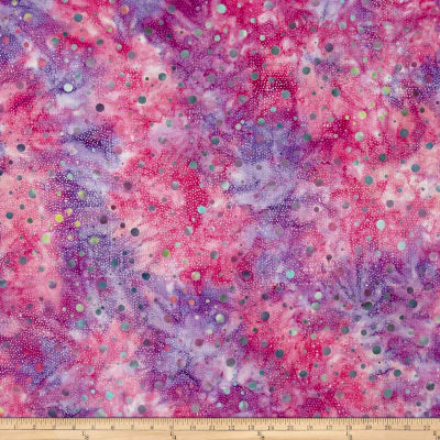 Batik Central Java Dots Purple/Fuchsia