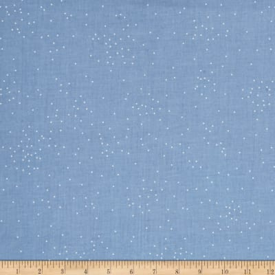 Cotton + Steel Basic Sprinkle Anna Blue