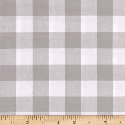 "Cotton + Steel Checkers Yarn Dyed Gingham Woven 1"" Linen"