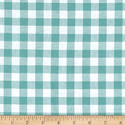 """Cotton + Steel Checkers Yarn Dyed Gingham Woven 1/2"""" Story Blue"""