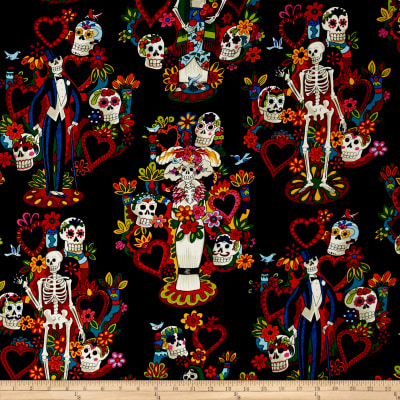 Alexander Henry Folklorico Tree of Life Black