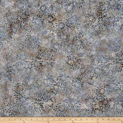 Wilmington Batiks Dancing Petals Gray