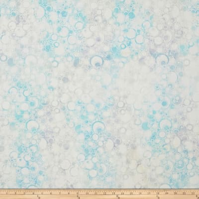 Wilmington Batiks Bubbles Allover Pale Blue