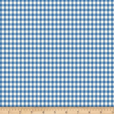 Backyard Pals Gingham Blue