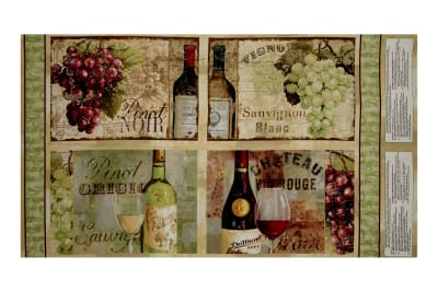 """From The Chateau Apron Placement 25"""" Panel Multi"""