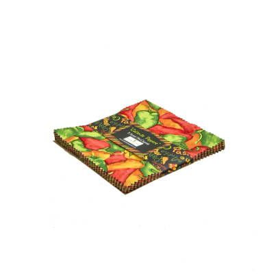 """Caliente Peppers 5"""" Squares"""