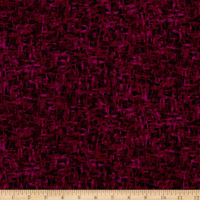 Palindromes Crosshatch Plum