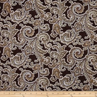 Burlap and Lace Lacey Paisley Espresso