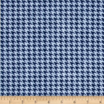 Alpine Woods Houndstooth Blue