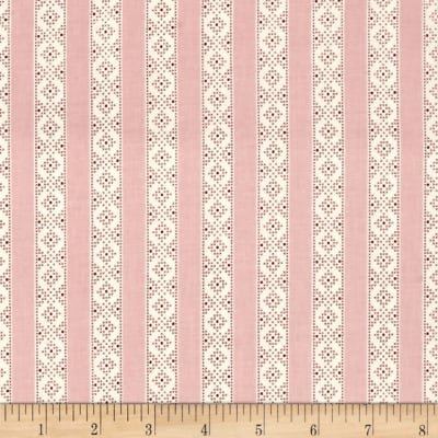 Make Do And Mend Needlepoint Stripe Pink