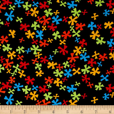 Kanvas Jungle Jive Flower Black/Multi