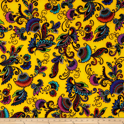 Kanvas Fiesta Jacobean Yellow