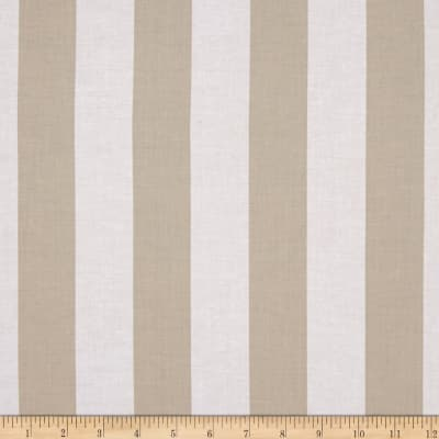 Meadow Storm Meadow Stripe Tan/White