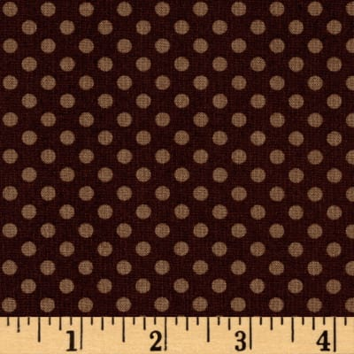 Woodland Gypsy Dots Brown
