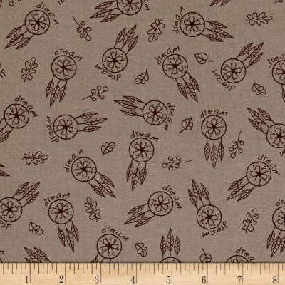 Woodland Gypsy Feathers Tan