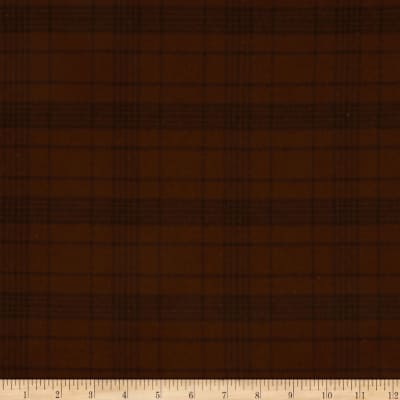 Primo Plaids Flannel Espresso & Latte Large Glen Plaid Espresso