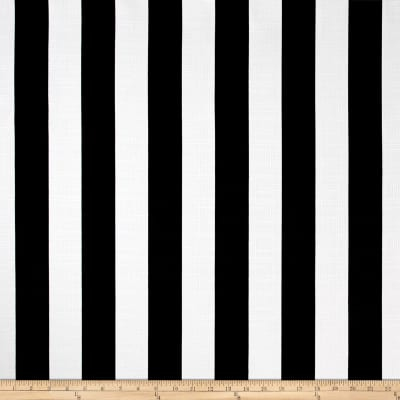 Richloom Solarium Outdoor Classic Stripe Black
