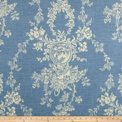 Waverly Country House Toile Chambray