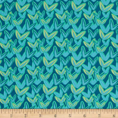 Intrigue Allover Turquoise