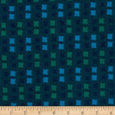 Intrigue Squares Teal