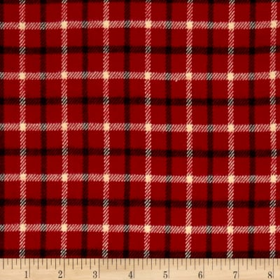 Primo Plaids Plaid On Red