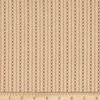 Heritage Red Chains Tan