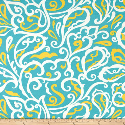 Richloom Indoor/Outdoor Albany Turquoise