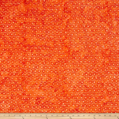 Wilmington Batiks Mini Dots Orange