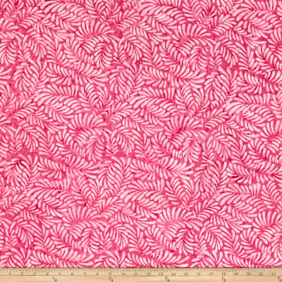 Wilmington Batiks Feathers Pink
