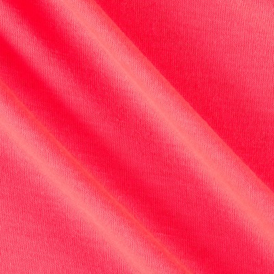 Polyester Jersey Knit Solid Neon Pink