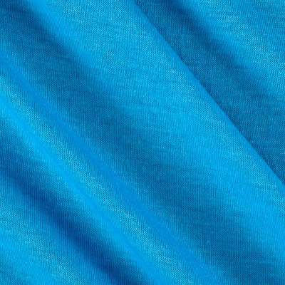 Polyester Jersey Knit Solid Light Blue