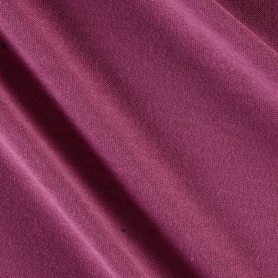 Polyester Jersey Knit Solid Light Plum