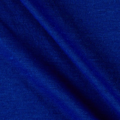 Polyester Jersey Knit Solid Cobalt