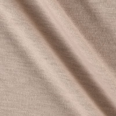 Polyester Jersey Knit Solid Oatmeal