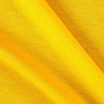 Polyester Jersey Knit Solid Bright Yellow