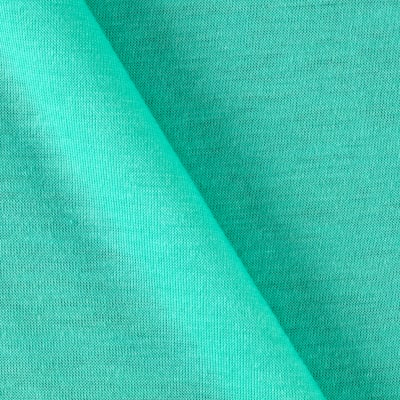 Polyester Jersey Knit Solid Seafoam