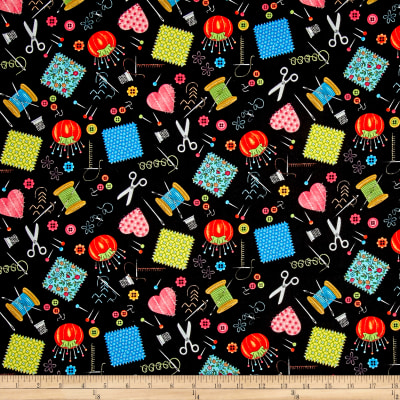 Shop Hop Sewing Notions Black