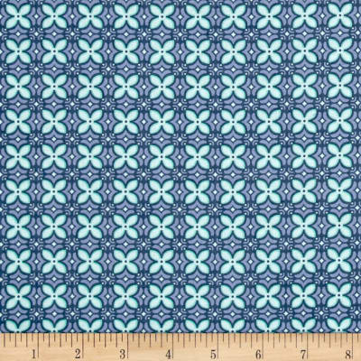 Sew It- Quilt It- Love It! Foulard Blue