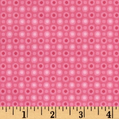 Bugs Flannel Monotone Dot Pink