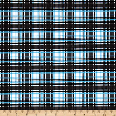 Alpine Flannel Plaid Black