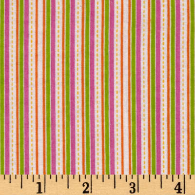Alpine Flannel Stripe Multi Girl