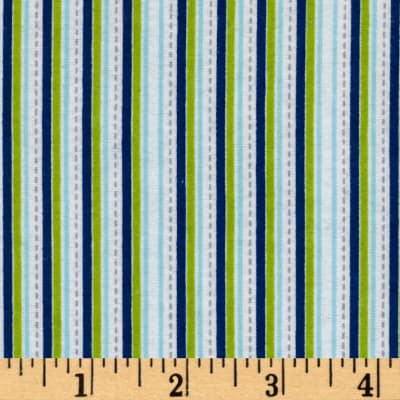 Alpine Flannel Stripe Multi Boy