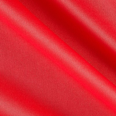 Polyester Lining Solid Vermillion