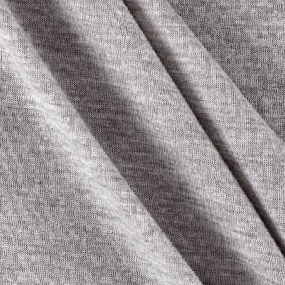 Poly Rayon Spandex Jersey Knit Solid Light Gray
