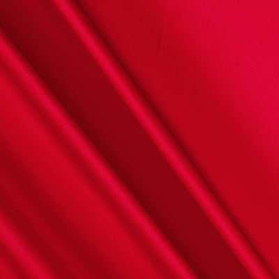 Charmeuse Satin Solid Red