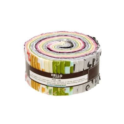 "Kaufman Color Dash 2.5"" Roll Up"